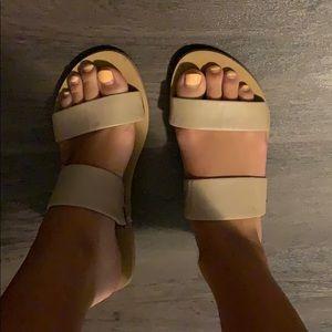 Rebecca minkoff double strap flats